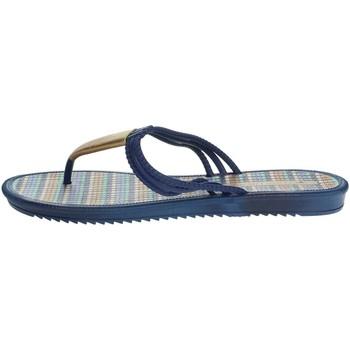 Schuhe Damen Zehensandalen Grendha 17258 Blau