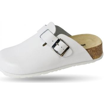 Schuhe Pantoletten / Clogs Weeger Clog Keils. Art.41520-10 weiß