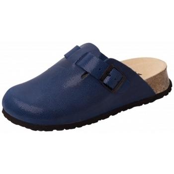 Schuhe Pantoletten / Clogs Weeger Clog Keils. Art.41520-31 royal gepr
