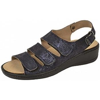 Schuhe Damen Sandalen / Sandaletten Weeger Sandale Art.15331-34 Wechselfb. blau met.