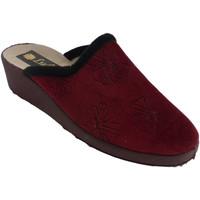 Schuhe Damen Hausschuhe Made In Spain 1940 Winterfrauenturnschuhe öffnen von hinten Bordeaux