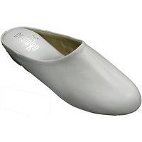 Schuhe Damen Hausschuhe Deisidro Offene Haut der Turnschuhfrau zu Hause D Weiss