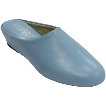 Schuhe Damen Hausschuhe Deisidro Offene Haut der Turnschuhfrau zu Hause D Blau