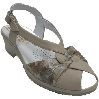 Schuhe Damen Sandalen / Sandaletten Made In Spain 1940 Liege Sandalen Damen Beigs sehr bequem L Beige