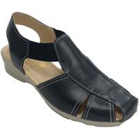 Schuhe Damen Sandalen / Sandaletten 48 Horas Damensandalen sehr bequemes Gummi 48 Hou Blau