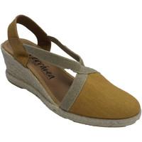 Schuhe Damen Hausschuhe Calzamur Damenschuhe geschlossene Zehen und offen Gelb