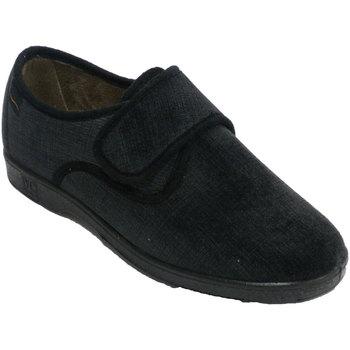 Schuhe Damen Hausschuhe Doctor Cutillas Sehr bequemer Frauenwinterschuh Doctor C Schwarz