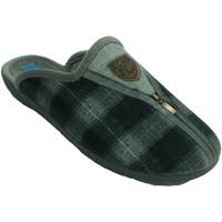 Schuhe Herren Hausschuhe Made In Spain 1940 Offener Mann des Winterschuhes hinter Pl Grau
