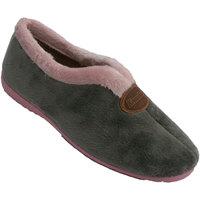 Schuhe Damen Hausschuhe Calzacomodo Geschlossene Ristöffnung des Frauenschuh Grau