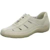 Schuhe Damen Sneaker Low Waldläufer Schnuerschuhe Henni 496020 244 148 beige