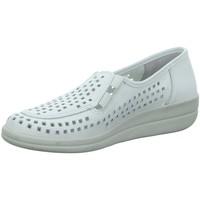 Schuhe Damen Slipper Longo Slipper Komfort Slipper 1006440 weiß