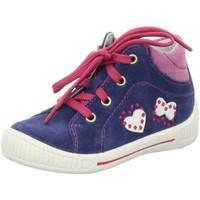 Schuhe Mädchen Sneaker Low Superfit Maedchen NV 6-00042-88 blau