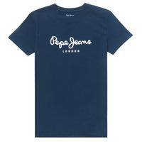Kleidung Jungen T-Shirts Pepe jeans ART Marine