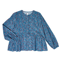Kleidung Mädchen Tops / Blusen Pepe jeans ISA Blau