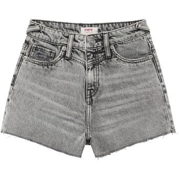 Kleidung Mädchen Shorts / Bermudas Pepe jeans ROXIE Grau