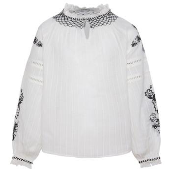 Kleidung Mädchen Tops / Blusen Pepe jeans RONIE Weiss