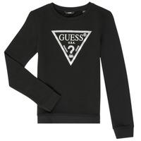 Kleidung Mädchen Sweatshirts Guess GABOR Schwarz