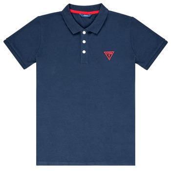 Kleidung Jungen Polohemden Guess HOSNI Marine