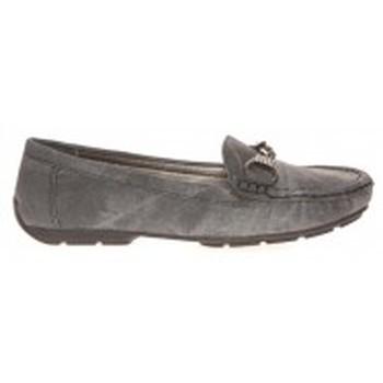 Schuhe Damen Slipper Cassis Côte d'Azur Mocassins Facile Noir Schwarz