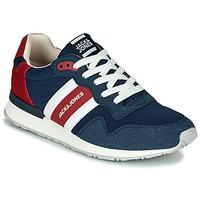 Schuhe Herren Sneaker Low Jack & Jones STELLAR MECH Marine / Rot