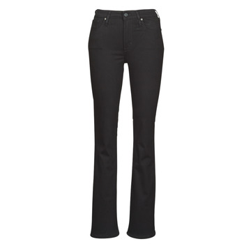 Kleidung Damen Bootcut Jeans Levi's 725 HIGH RISE BOOTCUT Schwarz