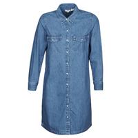 Kleidung Damen Kurze Kleider Levi's SELMA DRESS Blau