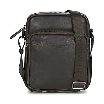 Taschen Herren Geldtasche / Handtasche LANCASTER SOFT VINTAGE HOMME 10 Braun