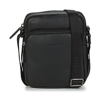 Taschen Herren Geldtasche / Handtasche LANCASTER Soft Vintage Homme 10 Schwarz