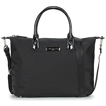 Taschen Damen Handtasche LANCASTER BASIC VERNI 66 Schwarz