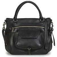 Taschen Damen Handtasche LANCASTER SOFT VINTAGE 5767 Schwarz