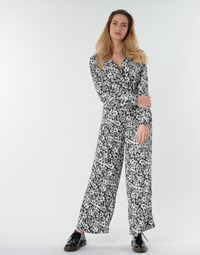 Kleidung Damen Overalls / Latzhosen Only ONLOPHELIA Schwarz / Weiss