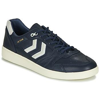 Schuhe Herren Sneaker Low Hummel HB TEAM CREST Blau