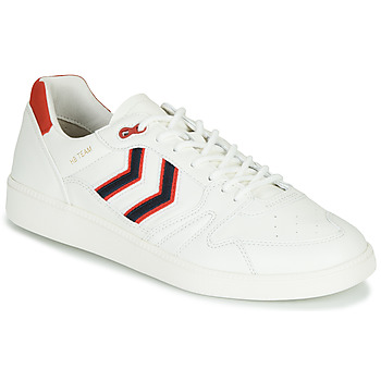 Schuhe Herren Sneaker Low Hummel HB TEAM CREST Weiss