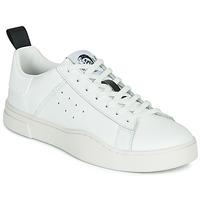 Schuhe Herren Sneaker Low Diesel S-CLEVER LOW Weiss
