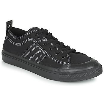 Schuhe Herren Sneaker Low Diesel S-ASTICO LOW Schwarz / Weiss