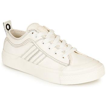 Schuhe Damen Sneaker Low Diesel S-ASTICO LOW LACE W Weiss