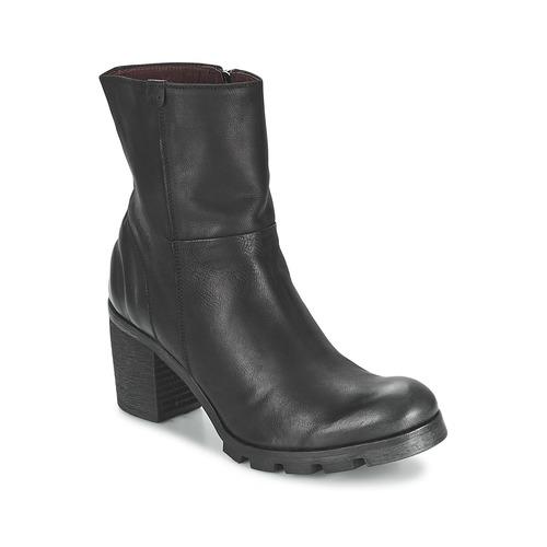 Schuhe Damen Low Boots BKR LOLA Schwarz