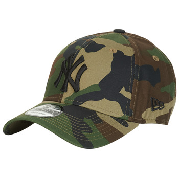 Accessoires Schirmmütze New-Era LEAGUE ESSENTIAL 9FORTY NEW YORK YANKEES Camouflage / Kaki