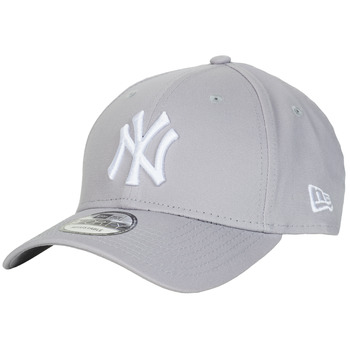 Accessoires Schirmmütze New-Era LEAGUE BASIC 9FORTY NEW YORK YANKEES Grau / Weiss