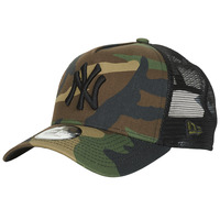 Accessoires Schirmmütze New-Era CLEAN TRUCKER NEW YORK YANKEES Camouflage / Kaki