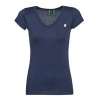 Kleidung Damen T-Shirts G-Star Raw EYBEN SLIM V T WMN SS Blau