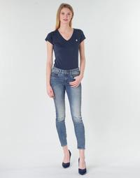 Kleidung Damen Röhrenjeans G-Star Raw ARC 3D MID SKINNY WMN Blau