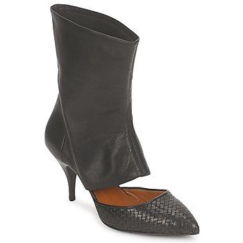 Schuhe Damen Low Boots Stéphane Kelian IVAN Schwarz