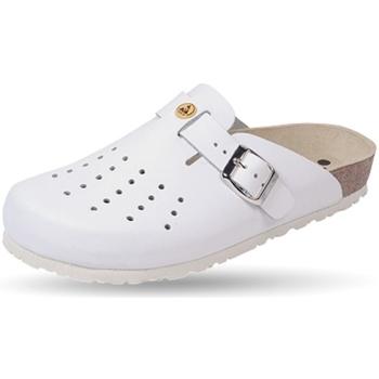 Schuhe Pantoletten / Clogs Weeger ESD-Clog Art. 48519-10 antistatisch weiß