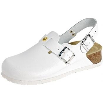 Schuhe Pantoletten / Clogs Weeger ESD-Clog Art. 48325-10 weiß