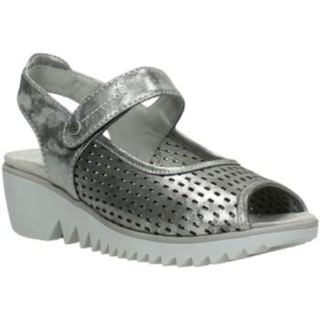 Schuhe Damen Sandalen / Sandaletten Wolky Sandaletten 3820-120 silber