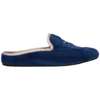 Schuhe Damen Hausschuhe Norteñas 7-35-25 Mujer Azul marino bleu