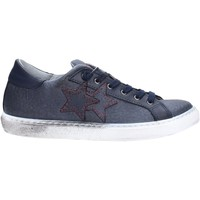 Schuhe Herren Sneaker Low 2 Stars 2045 Multicolore