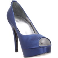 Schuhe Damen Pumps Stuart Weitzman - Spuntato blu raso LILLE Multicolore