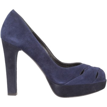 Schuhe Damen Pumps Stuart Weitzman - Spuntato blu LOOKOUT Multicolore
